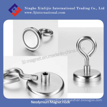 Super Strong NdFeB Neodymium Magnetic Hook Pot Magnets