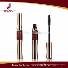 DBC-801 2015 hot New Design luxury mascara bottle, unique aluminum permanent mascara bottle, empty love alpha mascara tube