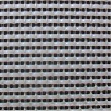 Polyester-Ebene gesponnene Masse, die Maschen-Gewebe macht