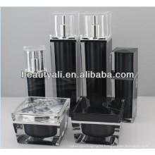 Square Luxury Cosmetic Packaging Acrylic Jar 30ml 50ml 100ml