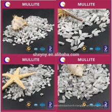 Mullite preparation of a variety of lightweight refractory castable