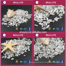 Preparação de Mullite de uma variedade de molduras refractárias leves