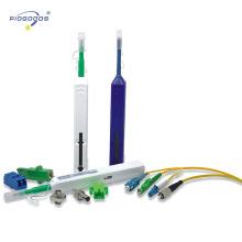 Limpador óptico tipo caneta com um clique para conectores FC / SC / ST de 2,5mm Vida útil 800tims