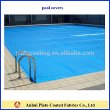 Reißfeste Outdoor-Vinyl-Pool-Abdeckungen, PVC-beschichtete Pool-Plane