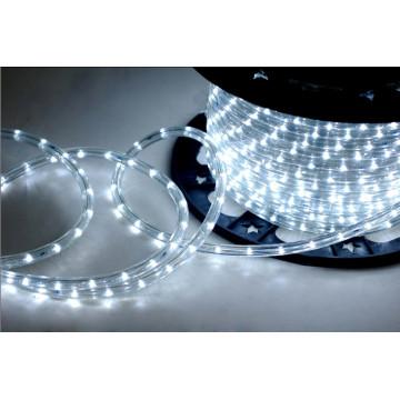 Led corda luz redonda fios branco para Beatuful rua luz