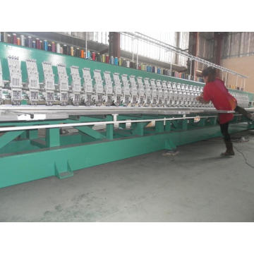 High Productivity Flat Embroidery Machine (strong body, 850rpm)