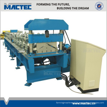 2014 Low Energy Consumption Ridge Cap Roll Forming Machine For Theatre