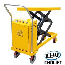 500KG Electric Single Scissor Lift ตาราง