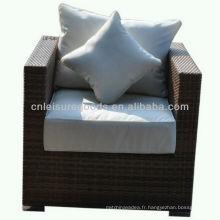 2013 nouveau design confort unique canapé accoudoir en rotin
