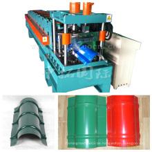 Farbige Stahldach-Bogen-Blatt-Rolle, die Maschine bildet