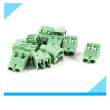 Factory 6.35mm Spacing PCB Screw Terminal Block