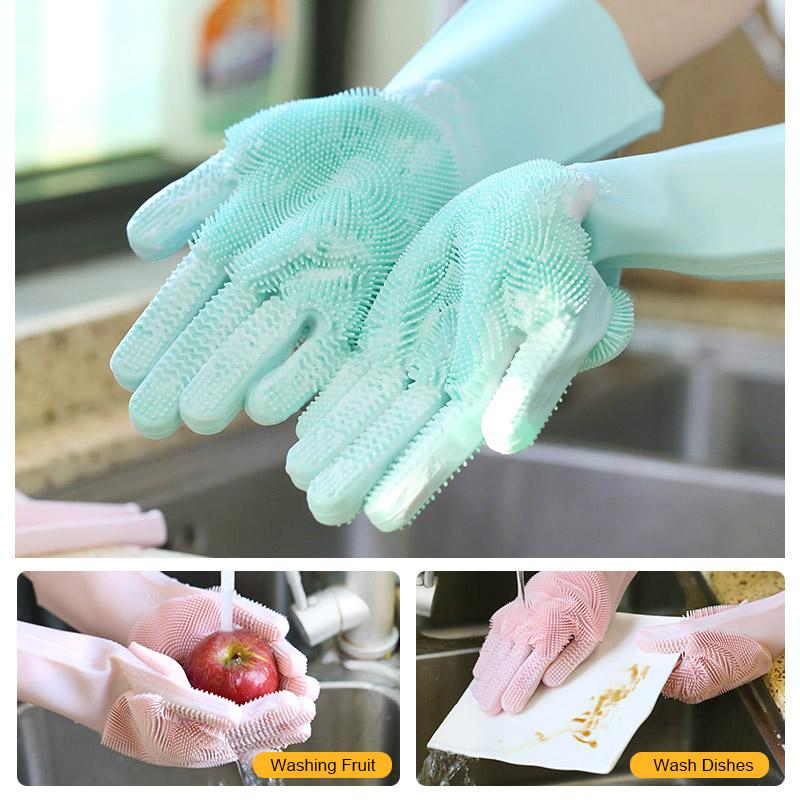 magic silicone gloves
