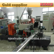 WPC/wood plastic granules extrusion machine