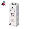 Checp diseño personalizado plegado caja de embalaje para la extensión del cabello