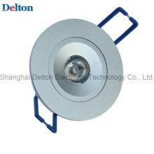 Lámpara redonda del techo de 1W Dimmable LED (DT-TH-1B)