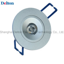 1W Dimmable круглый светодиодный потолочный светильник (DT-TH-1B)