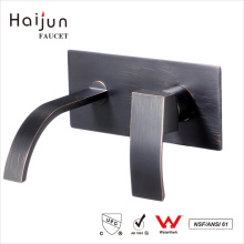 Haijun 2017 Trending Products NSF Single Handle Wall Mount Basin Faucets
