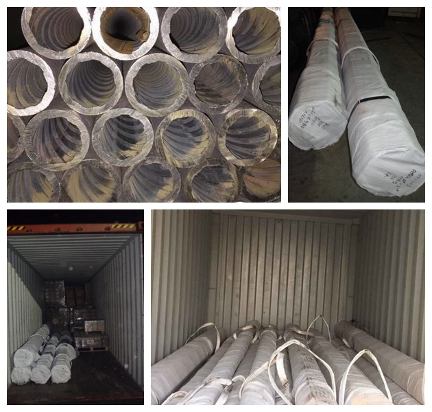 Rifled tube and pipe SA210 SEAMLESS PACKAGE CONTAINER