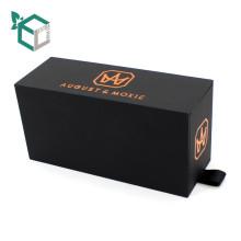 Nuevo cajón de cartón gris Caja de chocolate exquisito mini regalo