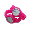 balance silicone rubber sports wrist watches