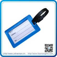 Custom PVC Logo Luggage Tag for Tourist