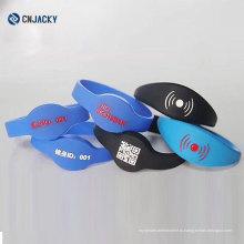 Красочные Водонепроницаемый спортивный браслет / анти-статические wristband силикона / резиновый RFID запястье