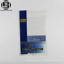 Adhésif imprimé facile personnalisé bopp adhésif pour les sous-vêtements pour hommes