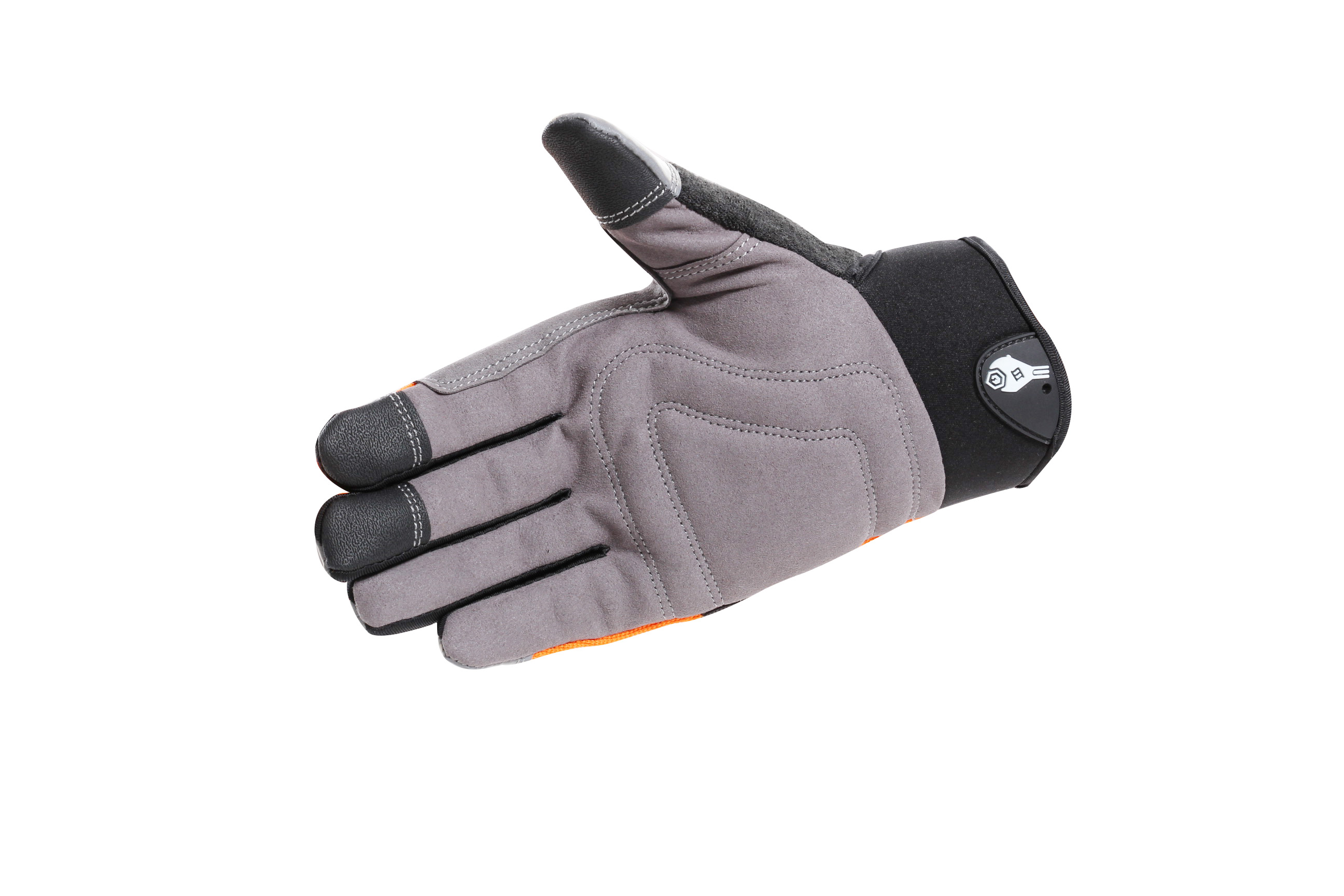 multi material cycling gloves