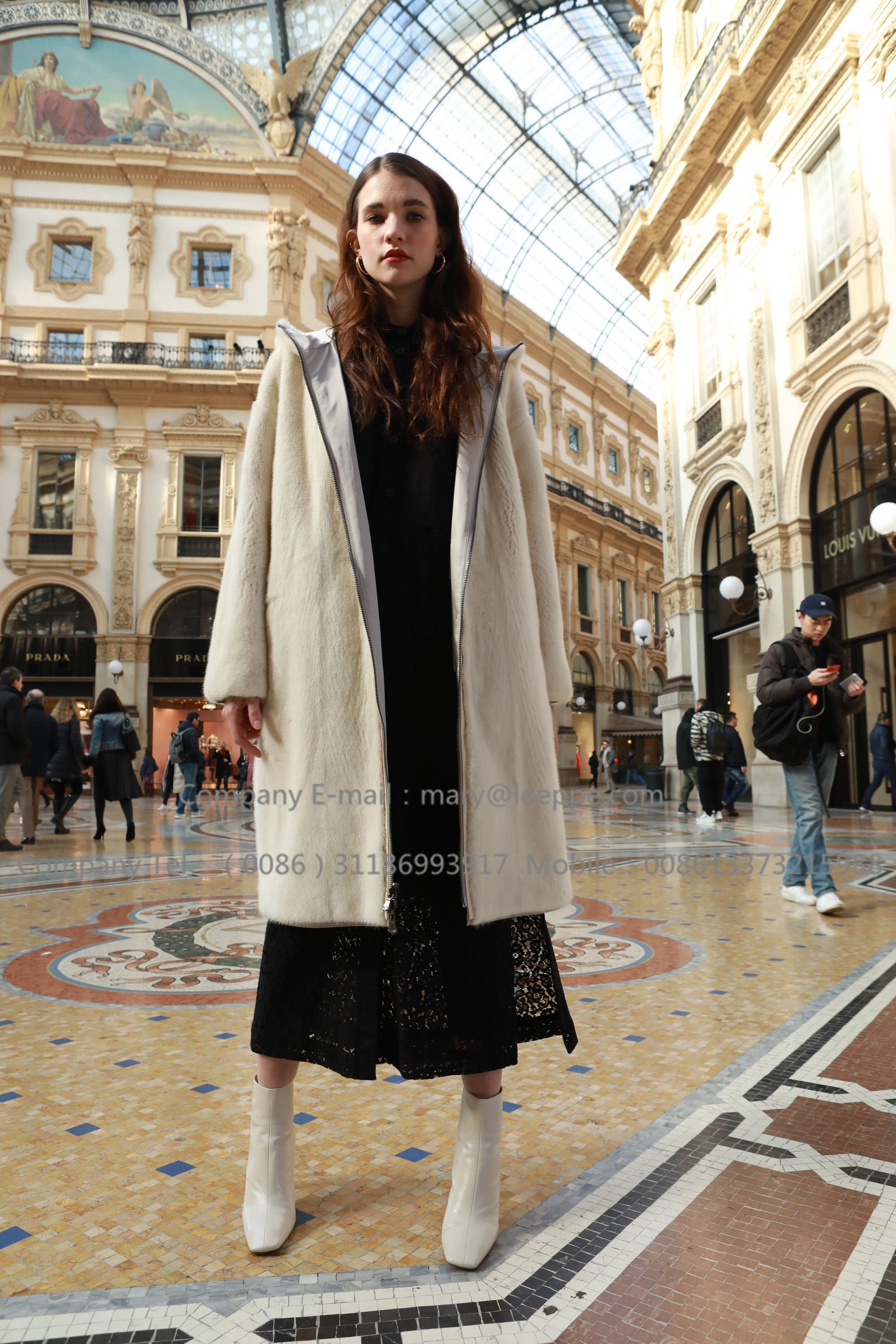 Reversible Parka Mink Fur Coat (1)