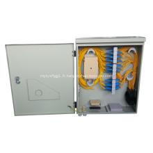 Cabinet de distribution à fibres optiques étanches à 72 atomes