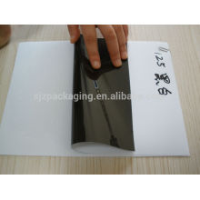 Schwarz weiß PET / Polyester / Mylar / Kunststofffolie für Etiketten
