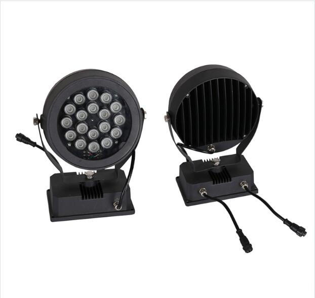 DC24V Rodada RGB Power LED Spot Light