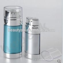 20ml 30ml 60ml AS cosmético garrafa airless com bombas duplas