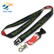 Durable Night Style Neck Strap or String Lanyard with Metal hook for ID Holder and Badge