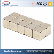 10x10x10mm Strong Rectangle Rare Earth NdFeB Magnet Cubes Block