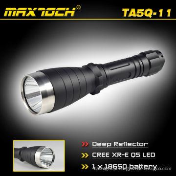 Maxtoch TA5Q-11 18650 novo projeto Deep refletor longo alcance LED Lanterna