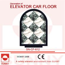 Mable-Line-Boden für die Dekoration von Aufzug Car Boden (SN-CF-612)