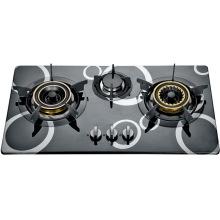 Tres quemador incorporado en la cocina (SZ-LX-249)
