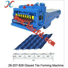 28-207-828 Aluminum Roofing Step Tile Machine