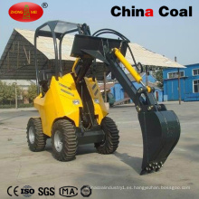 Hy200 Multi-Functional Mini retroexcavadora cargadora frontal