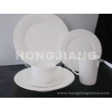 Ensemble de dîner en ossature chinoise (HJ068008)