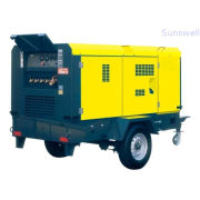 400cfm 145psi Automatically Motor Drving Portable Screw Air Compressor 10 Bar 11.3m3 / Min