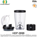 450ml Black Electric Protein Shaker Bottle, Wholesale Cheap Plastic Vortex Shaker Bottle (HDP-0896)