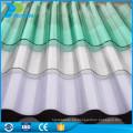 Venta al por mayor de chapa de plástico transparente de policarbonato corrugado hojas de precio barato