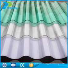 Auvent facile à installer en toit en tôle ondulée à bas prix
