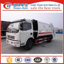 Dongfeng 8cbm usado camión compactador de basura