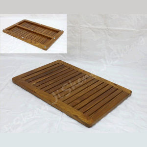 Sustainable Spa Teak Bath & Shower Mat