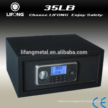 Caja fuerte del hotel seguro, electrónica digital de pantalla LCD