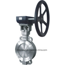 "Stainless Steel Calss150/Class300 Wafer Butterfly Valve (D371W-150LB-3"")"