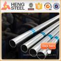Tianjin soldó el tubo de GI para el poste de la cerca
